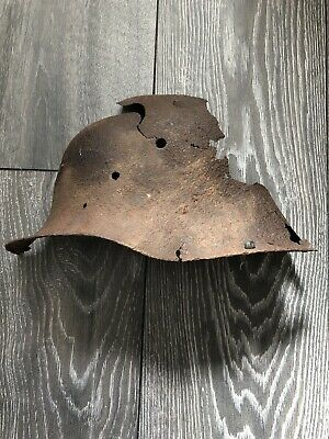 Original Ww1 Relic German Helmet Found Somme • 19.99£