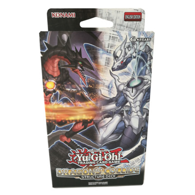 YuGiOh! Dragons Collide Structure Deck - NEW Sealed - Flatpacked Box!** • 14.95£