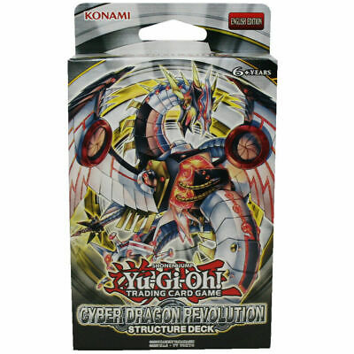 YuGiOh! Cyber Dragon Revolution Structure Deck - 42 Cards **(Flatpacked Box) • 11.95£