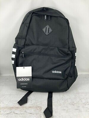 $34.99 • Buy Adidas Core Backpack Tech Friendly 15.4  Laptop 2 Water Bottle Holders Black