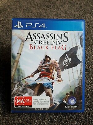 AU24.95 • Buy Assassin's Creed IV Black Flag PS4 Game Sony PlayStation 4 #30 Day Warranty#