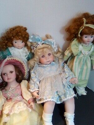 $ CDN54.13 • Buy Vintage Porcelain Doll Lot 4 Total
