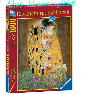 $ CDN67.49 • Buy Ravensburger Abstract Painting Klimt: Kiss  1000 Adult Stress Relief Puzzles Toy