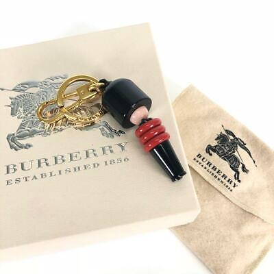 BURBERRY Authentic Soldier Military Bag Charm Keyring Used Excellent Condition • 313.81£