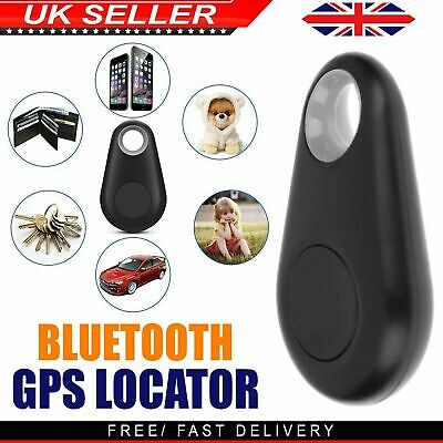 GPS Tracker Anti Lost Alarm Bluetooth Key Finder Dog Locator Smart Tag Child UK • 3.09£