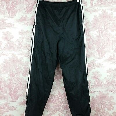 $6.80 • Buy Sportrax Athletic Pants Boys Size M Pockets Zip Up Ankles Nylon Lined Black