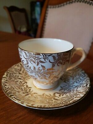 $4 • Buy Royal Seagrave Fine Bone China Tea Cup And Saucer Set Made In England