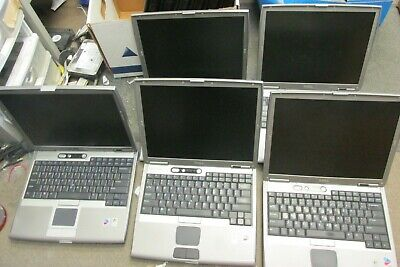 $ CDN164.78 • Buy Lot Of 5 - Dell Latitude D600 Laptops - For Parts Only