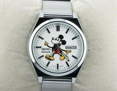 $ CDN164.21 • Buy Vintage Seiko 5 Automatic Mickey Mouse 6309A Men's Japan Working Wrist Watch