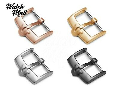 Fits OMEGA Matt Buckle Clasp For Watch Leather Strap Band Silver Y. Gold Rose • 15.49£