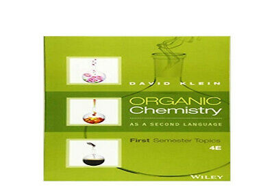 $3.99 • Buy Organic Chemistry As A Second Language: First Semester Topics |P*D*F⚡Fast ✅📩