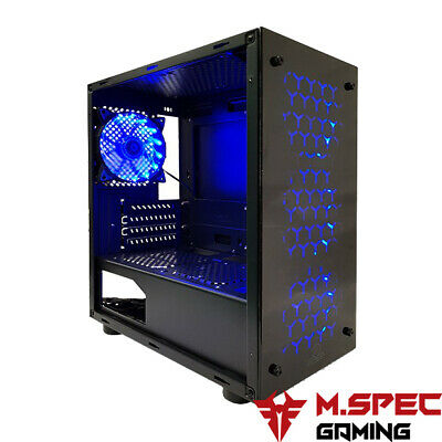 AU69 • Buy Micro-ATX Gaming Computer PC Case With 4x120mm Blue LED Fan (Magic-201)