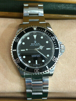 $ CDN8356 • Buy Rolex Submariner Stainless Steel 40mm Dive Watch 14060M Z Series Box & Papers!