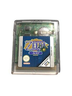 AU40 • Buy Nintendo Game Boy Color The Legend Of Zelda Oracle Of Ages Aus Genuine Pal Game