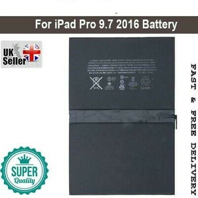 £13.99 • Buy NEW Battery For IPad Pro 9.7 A1674 Replacement 100% Capacity 1st Generation