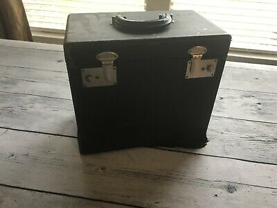 $40 • Buy Singer 221 Featherweight Sewing Machine Carry Case Only W Tray Vtg 40s Solid