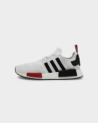 AU160 • Buy Adidas NMD R1 - Mens - White Black Red - Size US 12 - Casual Active Fitness