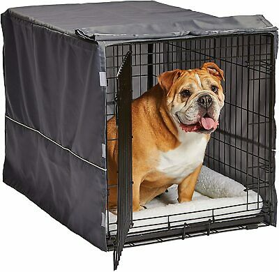 $34.99 • Buy 48  Extra Large Giant Breed Dog Crate Kennel XL Pet Wire Cage Huge Folding Cover