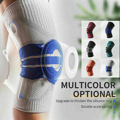 AU15.99 • Buy Knee Support Brace Anti-Slip Pain Relief Compression Sleeve Metal Protector