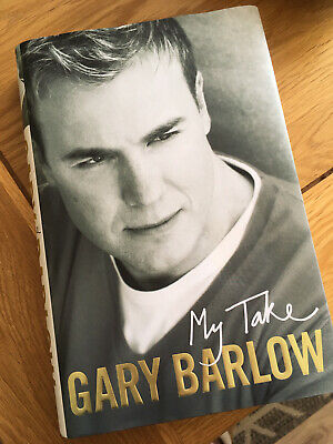 Gary Barlow Signed My Take Hardback Book • 13£