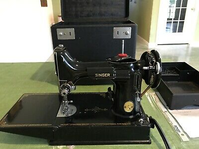 $206 • Buy Vintage Singer Featherweight Sewing Machine