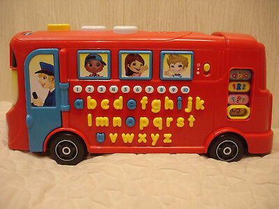 £12 • Buy Vtech Playtime Bus Musical Educational Activity Toy Excellent Condition