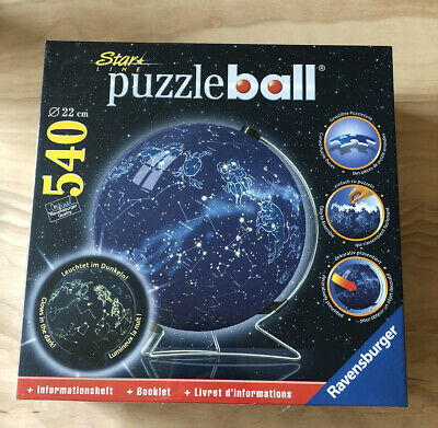 $44.99 • Buy Ravensburger Star Line Puzzle Ball Constellations 540 Pieces Glow In Dark NEW