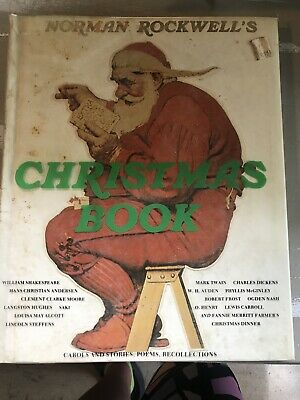 $ CDN13.32 • Buy Norman Rockwell's Christmas Book By Molly Rockwell (1993, Hardcover) E13
