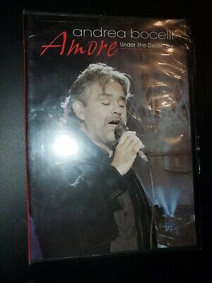 $24.99 • Buy Andrea Bocelli-Amore-Under The Desert Sky Live Classic Concert DVD Rare New TOTG