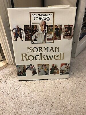 $ CDN32.96 • Buy Norman Rockwell Lg Hardcover Book 332 Magazine Covers Coffee Table Library Book