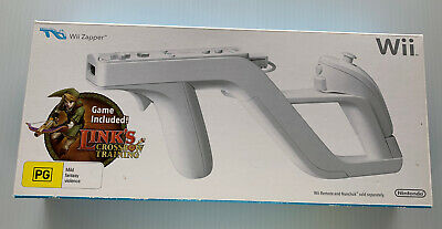 AU29.95 • Buy Nintendo Wii Zapper With Links Crossbow Training Game In Box As New