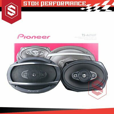 AU125 • Buy Pioneer TS-A6960F 6  X 9  4-Way 450Watts Peak 4-Ohms Coaxial Car Speakers
