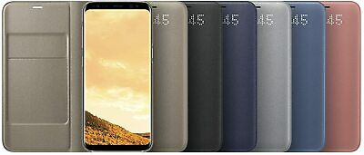 $ CDN68.74 • Buy Original Genuine Samsung LED View Flip Cover Wallet Case For Galaxy Note 8