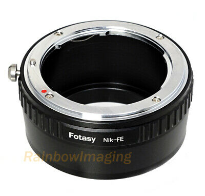 $ CDN13.77 • Buy Nikon F Mount Lens To Sony E-Mount Camera Adapter A6500 A6000 A5000 A6300 A6600