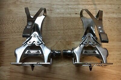 $31 • Buy Shimano 600 PD-6207 Vintage Road Bike Pedals With Cages