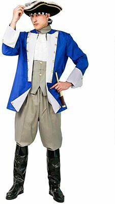 $25.99 • Buy Colonial General Costume Halloween Costumes For Adult Mens Party Dress Sz. XL