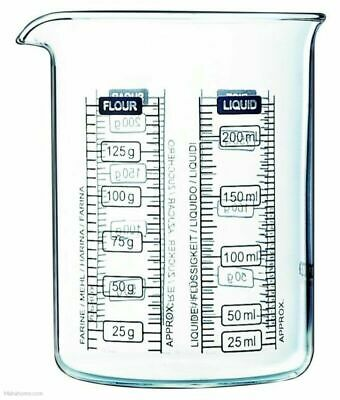 £8.83 • Buy Pyrex Classic Kitchen Lab Measure And Mixing Beaker 250ml - Transparent