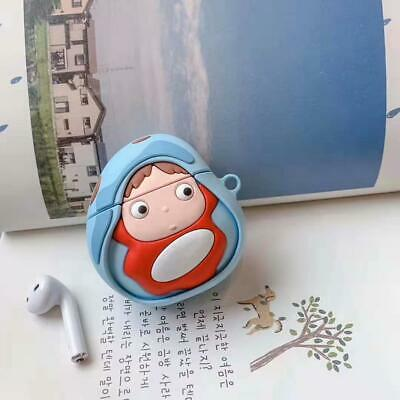 $ CDN6.29 • Buy For AirPods Pro 2 1 Case 3D Cartoon Ponyo Silicone Earphone Charging Cover