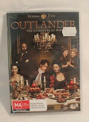 AU20 • Buy OUTLANDER SEASON 2 ~ Brand New In Shrinkwrap DVD Set 6 Disc Set Special Features