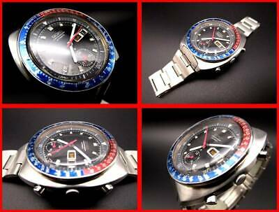 $ CDN1420.90 • Buy Seiko Speed Timer Chronograph Vintage Automatic Mens Watch Authentic Working