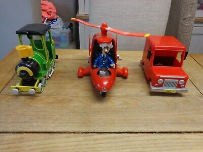 Postman Pat & Jess Helicopter With Sounds & Light & Van &train • 14.99£