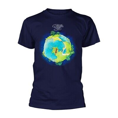 Yes Fragile Album Rock Close To The Edge 90125 Official Tee T-Shirt Mens • 13.99£