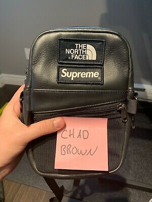 $ CDN275 • Buy Supreme The North Face Leather Shoulder Bag. Like New.