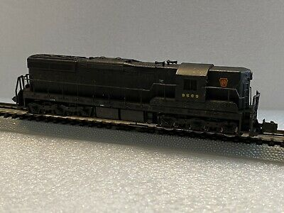 $22.28 • Buy Life-Like N Scale Pennsylvania SD7 Locomotive, Part Of A Large Lot, Weathered