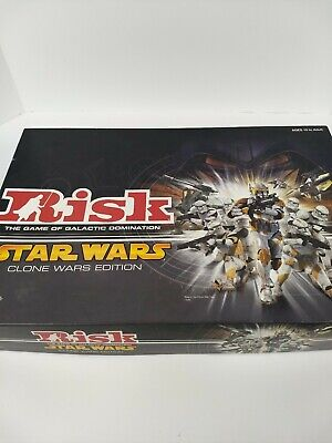 $21.99 • Buy Risk Star Wars Board Game Clone Wars Edition Parker Brothers 2005 Complete
