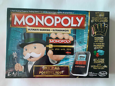 $30 • Buy Brand New In Box Mint Factory Sealed Ultimate Banking Electronic Monopoly Game
