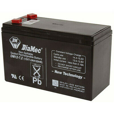 AU57.95 • Buy TechBrands Back-up SLA Battery (12V 7.2Ah NBN)