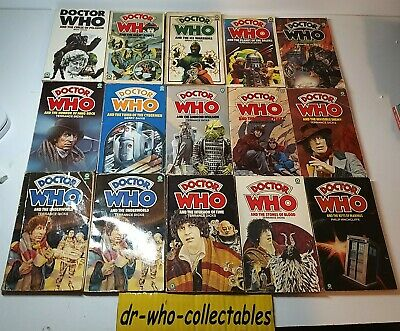 Doctor Who Target Paperback Joblot X35 - X33 1st Editions 1974 - 1987 No11-118 • 59.99£