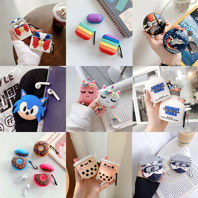 $ CDN5.35 • Buy For AirPods Pro 2 1 Case Multi Cartoon Design Silicone Earphone Charging Cover