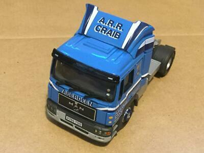 Corgi - Man Flatbed Trailer With Container Load - A.r.r. Crabb - 1:50 - Cc12004 • 12£